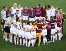 Three Lionesses in the Knockout Phase