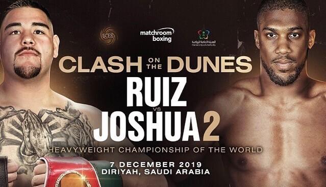 Anthony Joshua to take on Andy Ruiz in Riyadh