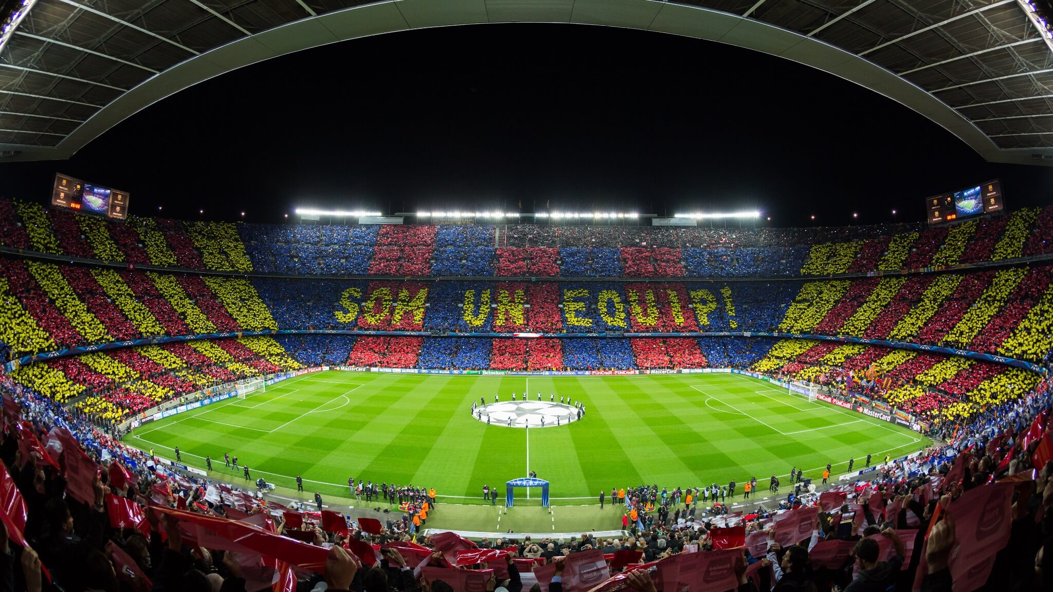 El Clasico in camp nou