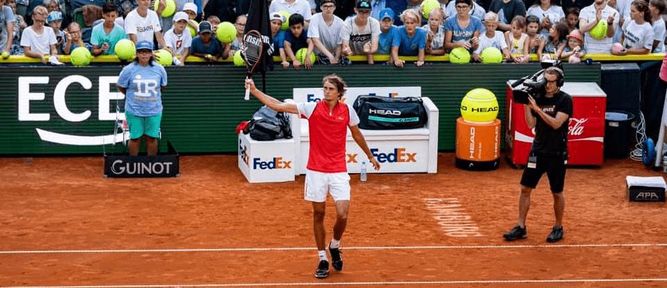 Alexander Zverev at Australian Open